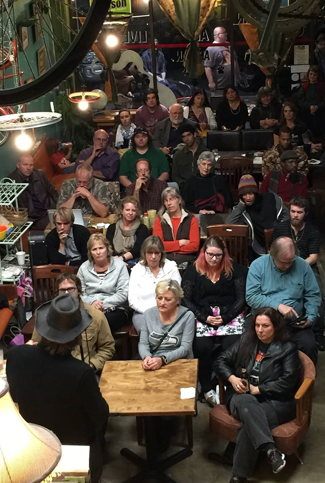 Brandon Pitts, Tender in the Age of Fury, Mosaic Press, Everett Poetry Night, Cafe Zippy
